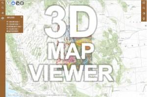 Utah Geologic Map 3D Map Viewer