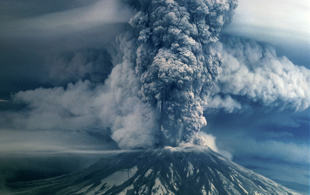 The Mount Saint Helens eruption in 1980, is one of the best known examples of a strato-volcano in the U.S. Utah has a long history of similar type volcanoes.